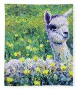Sapphire Fleece Blanket