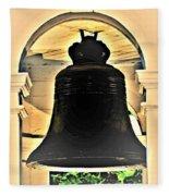 Savannah Exchange Bell Fleece Blanket