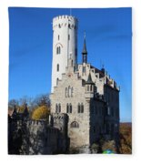 Schloss Lichtenstein Fleece Blanket
