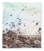 Sea Grass Fleece Blanket by Susan Maxwell Schmidt
