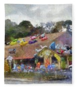 Seaberry Surf The Shops Of Cape Cod Massachusetts Pa Fleece Blanket
