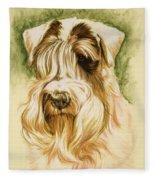Sealyham Terrier Fleece Blanket
