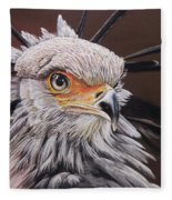 Secretary Bird Fleece Blanket