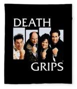 Seinfeldblackflag Fleece Blanket