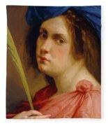 Self Portrait As A Female Martyr 1615 Fleece Blanket
