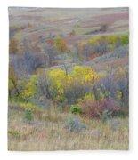 September Perfection On The Western Edge Fleece Blanket