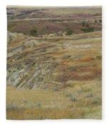 September Reverie In Dakota West Fleece Blanket