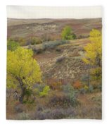 September Trees Reverie Fleece Blanket