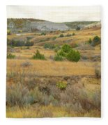 September's Golden Treasure Fleece Blanket