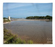 Ses Salines De Formentera Fleece Blanket