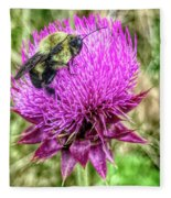 Sexuality In The Field Of Vision Fleece Blanket by Jeff Iverson