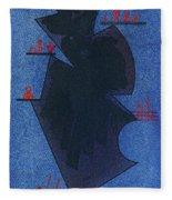 Shadow, 1931 Fleece Blanket