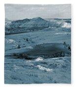 Shadowy Grasslands Fleece Blanket