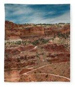 Shafer Trail. #2 Fleece Blanket