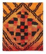 Shaman Tribal Badge Fleece Blanket