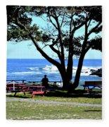 Ship Cove Park Fleece Blanket