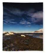 Shoreline With Driftice Fleece Blanket