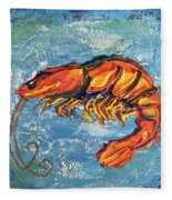 Shrimp Fleece Blanket