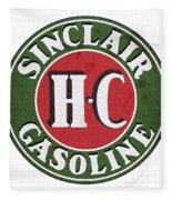 Sinclair Gasoline Fleece Blanket