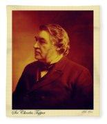 Sir Charles Tupper Fleece Blanket