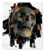 Skull - 4 Fleece Blanket