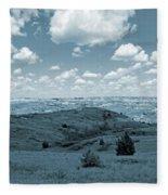 Sky And Prairie Dance Fleece Blanket