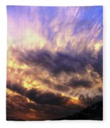 Sky Burst Fleece Blanket