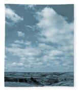 Slope County And Sky Fleece Blanket