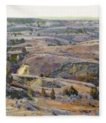 Slope County Badlands Reverie Fleece Blanket