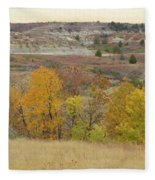 Slope County September Splendor Fleece Blanket