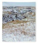 Slope County Snowfall Fleece Blanket