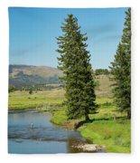 Slough Creek Fleece Blanket