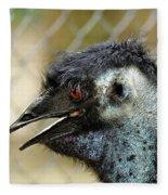 Smiley Face Emu Fleece Blanket