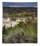 Snake River Canyon Fleece Blanket