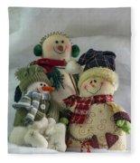 Snow Folk Fleece Blanket