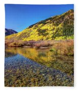 Snowmass Creek Fleece Blanket