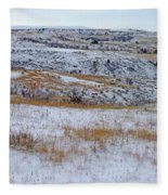 Snowy Slope County Territory Fleece Blanket