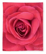 Soft Rose Fleece Blanket