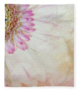 Softly Gerbera Fleece Blanket