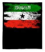 Somaliland Shirt Gift Country Flag Patriotic Travel Africa Light Fleece Blanket