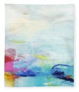 Somewhere Else Fleece Blanket