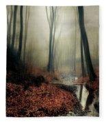 Sounds Of Silence Fleece Blanket