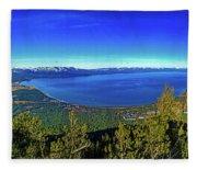 South Lake Tahoe Fleece Blanket