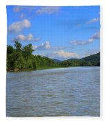 Southern Lake Champlain Fleece Blanket