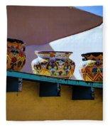 Southwestern Bowls Fleece Blanket