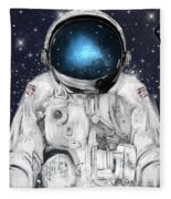 Space Adventurer  Fleece Blanket