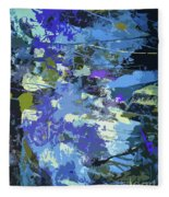 Space And Time Fleece Blanket