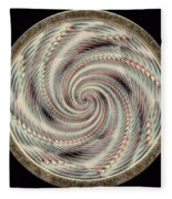 Spinning A Design For Decor And Clothing Fleece Blanket
