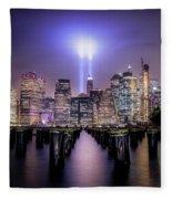 Spirit Of New York II Fleece Blanket