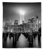 Spirit Of New York Fleece Blanket
